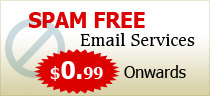 Spam free email services